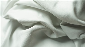 White Stretch Twill Fabric