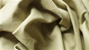 Khaki Bull Denim Fabric