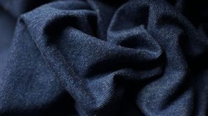 Dark Blue Laundered Denim